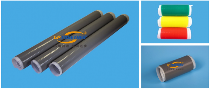 Silicon Rubber Cold Shrink Tube For Railway / Ports High Shrink Ratio
