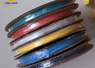 China Colourful Ultra Thin Wall Heat Shrink Tubing - 55 - 125℃ Operating UTDRS supplier