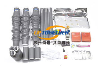 China High Voltage Straight Cold Shrinkable Termination Kits NLS WLS Silicon Rubber supplier