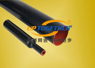 China Black Red Heavy Wall Heat Shrink Tubing Semi Conductive / Insulation 10 / 36kV supplier