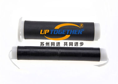 China EPDM Flexible Shrink Tubing , Cold Shrink Cable Tube With Double Strips supplier