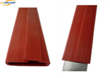 China Eco Friendly Overhead Line Cover Red Color High Voltage SRMPG10 Series supplier