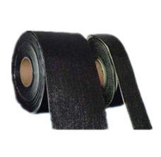 China PP Fiber Woven Cold Applied Tape , 1 - 1 . 5MM Pipe Wrap Tape CBT - B Series supplier