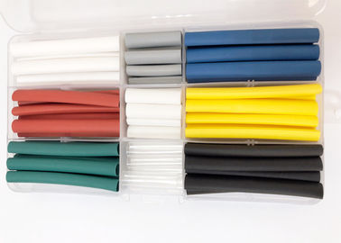 90PCS Colorful Polyolefin Heat Shrink Tubing For Mobile Phone Data Cable Or Wire Repair