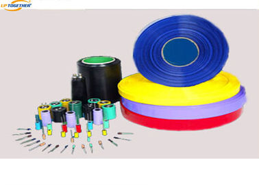 Custom Color PVC Heat Shrink Tubing , PVC Shrink Wrap Tubing φ4 - φ35MM