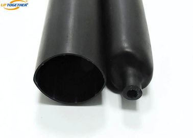 Semi Rigid Adhesive Lined Heat Shrink Tubing MWPC / MWP Black Color