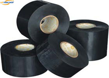 China Inner Wrap Corrosion Resistant Tape , Black Polyethylene Anti Corrosion Tape factory