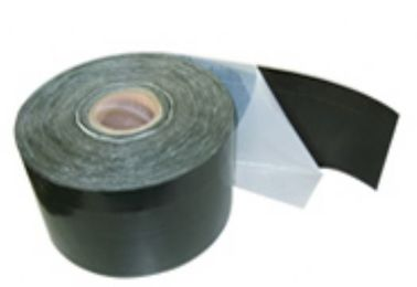 Butyl Adhesive Cold Applied Tape , Anti Sticking Film Pipe Coating Tape CBT - Y