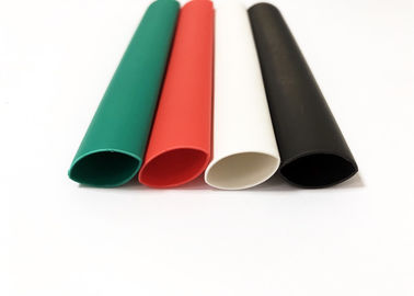 3/1 1kV Black Waterproof Heat Shrink Tubing For Wires , Colored Shrink Tubing
